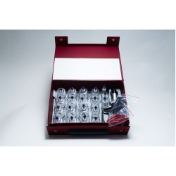 Cuppingset 27 delig in koffer